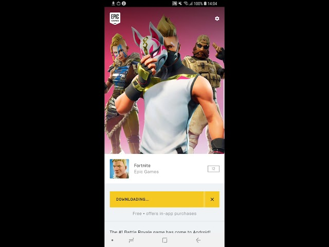 Fortnite Installer could be abused to silently install apps