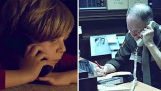 Der Junge sucht seine Mutter im Himmel und ruft deshalb die Polizei an. Deren Reaktion?