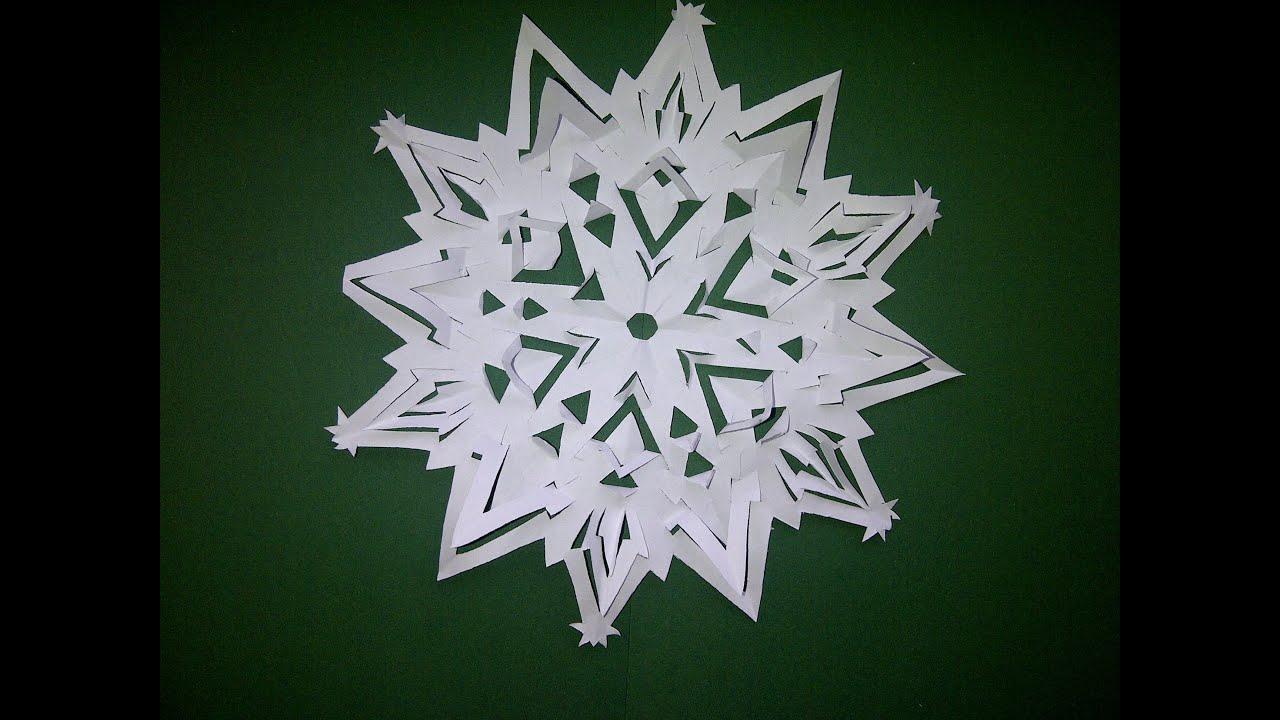 Украшения на новый год дом украсить бумагой
