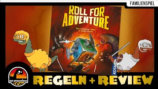Roll for Adventure - Brettspiel Regeln und Rezension