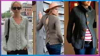 Diversos puntos para suéteres tejidos a mano | Sueter tejido