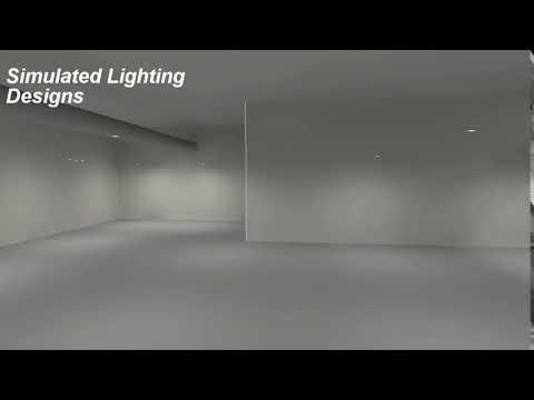 Simulated Lighting Designs