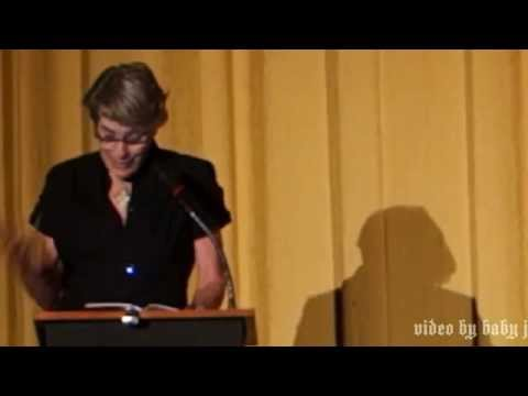 Mary Woronov reading @ The Castro Theatre, San Francisco, Nov 6, 2014-Andy Warhol, Chelsea Girls