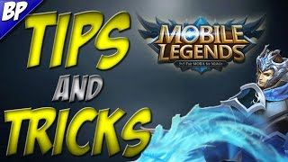 Mobile Legends Tips and Tricks