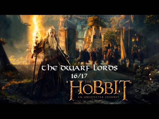 16. The Dwarf Lords (Exclusive Bonus Track) 2.CD - The Hobbit: an Unexpected Journey