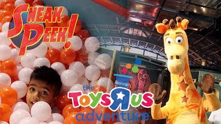 "The Toys""r""us Adventure 2019 ? What Is It?! Sneakpeek! Walk-through ! Chicago, Il"