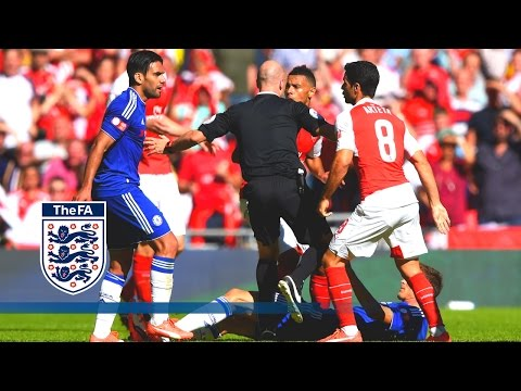 Arsenal 1-0 Chelsea (Exclusive Pitchside Cam) Community Shield 2015   Snapshots