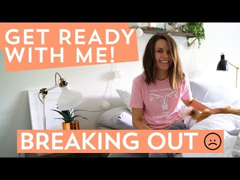 Get Ready with Me! Pimple-y Skin Day Routine | Ingrid Nilsen
