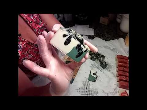 Making and cutting Avalanche Cold Process Soap