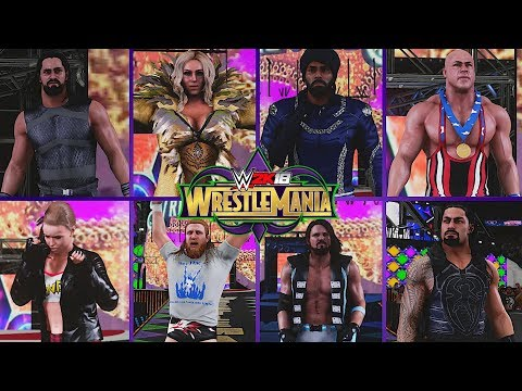 WWE 2K18 Showcase: The Ultimate WrestleMania 34 Bundle! (Arena & Loads of Attires!)