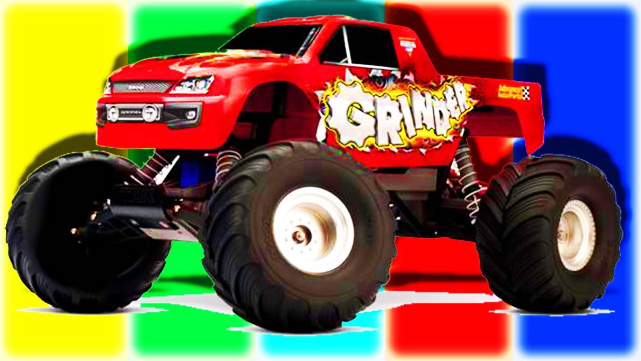 Monster Cars Monster Trucks For Children Monster Mashines