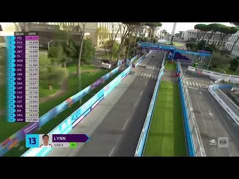 #FormulaE - Rome E-Prix cable camera views - Saturday morning