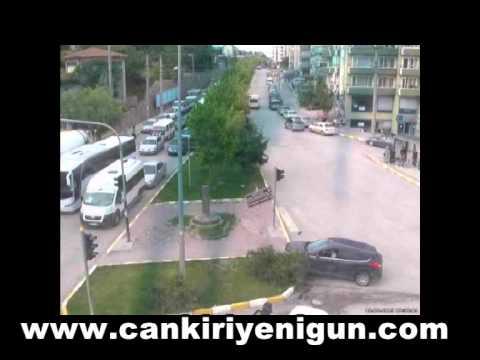 Çankırı'da ki kazalar MOBESE'de