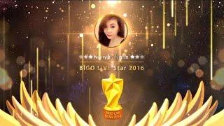 BIGO ANNUAL ADWARDS: BIGO LIVE STAR 2016 WINNER LIST