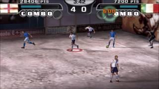 FIFA Street 2 PSP Gameplay HD