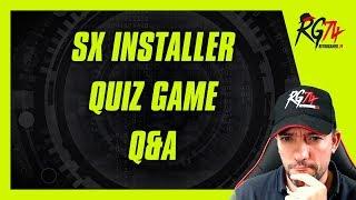 Welcome RetroBot. SX Installer. Quiz Videojuegos. Preguntas y Respuestas.