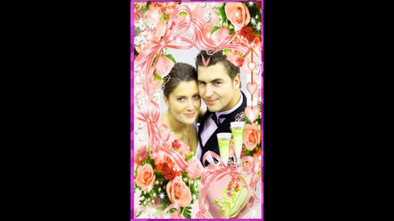Imikimi Photo Frames Wedding Anniversary Birthday Photo Frame Wedding Anniversary Cards Cute766