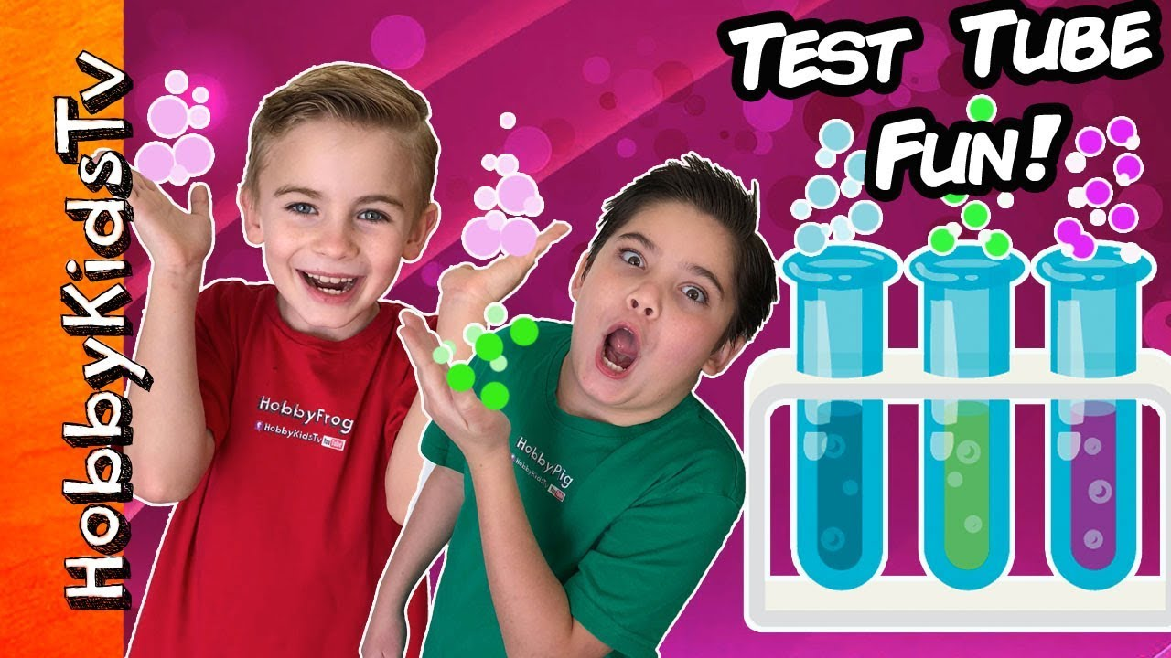 TEST TUBES  Experiments We found Surprise TOYS!