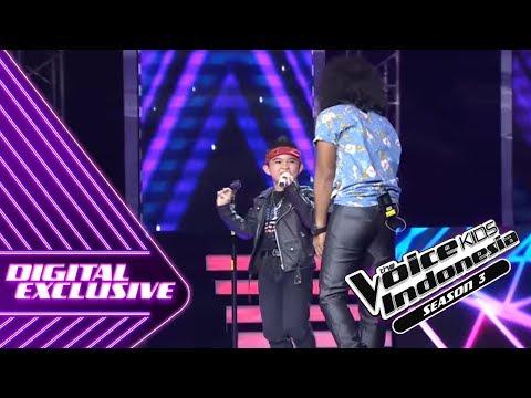 Keren! Ini Dia Duet Moses feat. Kaka   Coach Duet #2   The Voice Kids Indonesia Season 3 GTV 2018
