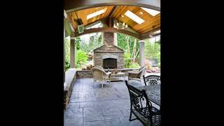Unique Stamped Concrete Patio Ideas, Outdoor Space Designs, The Concrete Network Ideas #2