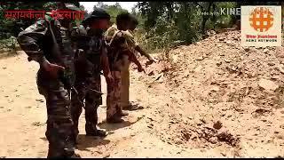 Saraikela kharsawan mein naksali aur police. muthbher teen jawan ghayal