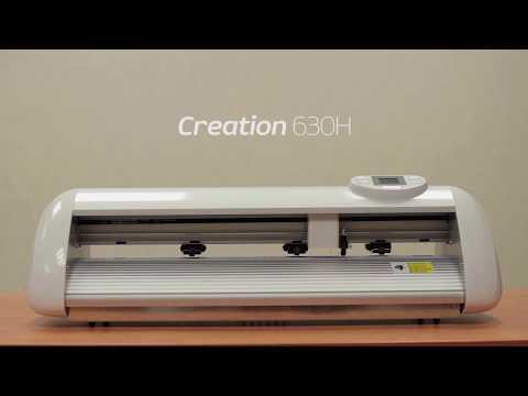 Creation режущий плоттер. Видео 3: Компенсация от лазера до ножа на плоттере.