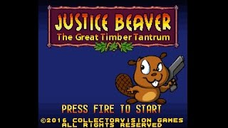Justice Beaver - new SNES game update - Gamester81