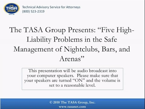 Entertainment Venue Risk Management How to Lower Liability in Nightclubs Bars and Concert Fa