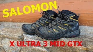 Salomon X Ultra Mid GTX Review