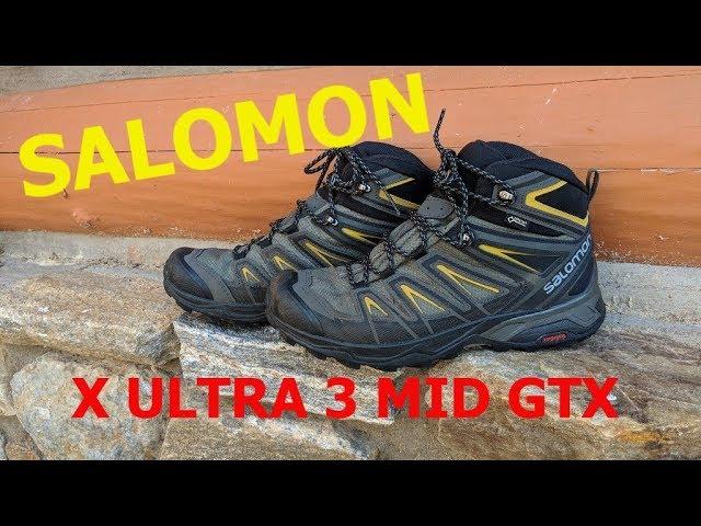 salomon x ultra 3 mid gore-tex walking boots review
