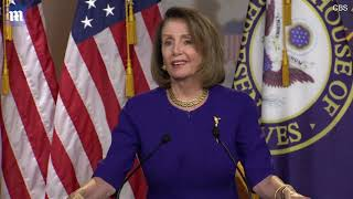 Nancy Pelosi wants to see the tax returns from President Trump