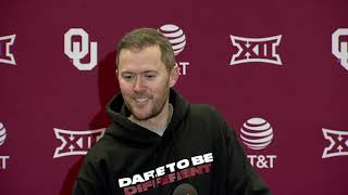 OU Football - Lincoln Riley on signing day, suspensions