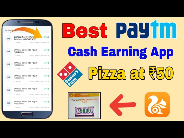Best Paytm Cash Earning App, 2 Pizza at Rs. 50, UC Browser Refer & Earn Offer, Zomato 50% Off Coupon