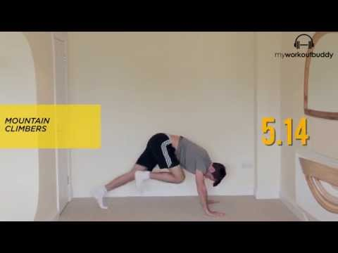 Men Fitness Video – Only 5 Minute Fat Burning Workout (HIIT)