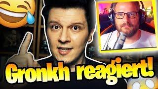 """GRONKH REAGIERT auf """"Gronkh lügt euch ALLE an! - Geheidert""""! 😂 (WARNUNG: IRONIE)"""