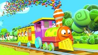 Panda Bo toma el Tren del Circo - Animación para los Niños