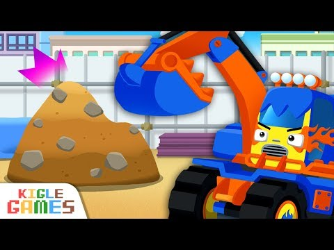 Strengthen Excavator Poco | Tayo Monster Truck EP05 | Tayo Game | Tayo The Little Bus | KIGLE GAMES