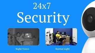 Xiaomi 360° 1080P IP Camera | Control And Monitor With Your Mobile