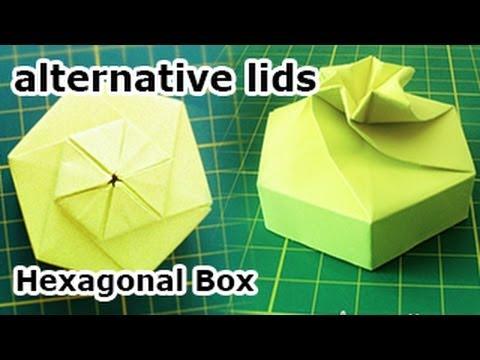 Easy Origami Masu Box & Lid Tutorial - DIY - Paper Kawaii - YouTube | 360x480