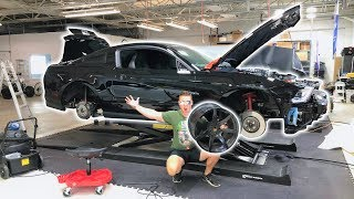 BIG PROBLEM WITH OUR JEEP WINNER... AND I BOUGHT SHELBY GT350R WHEELS FOR MY GT500!!!