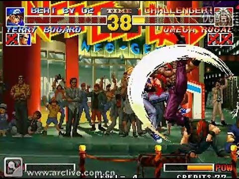 KoF 95 - Ghost Rider vs Wudi - 2009 archive, arclive emulator, 拳皇95, the king of fighters 95