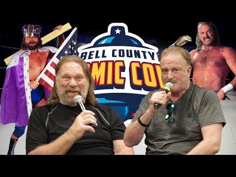 Hacksaw Jim Duggan and Jake the Snake Roberts Panel at Bell County Comic Con