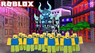 WORLDS BIGGEST ROBLOX PLAYER! (Roblox Titan Simulator)