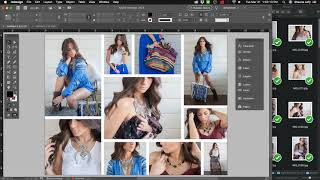 Making an Photo Collage/Grid with InDesign screenshot 1