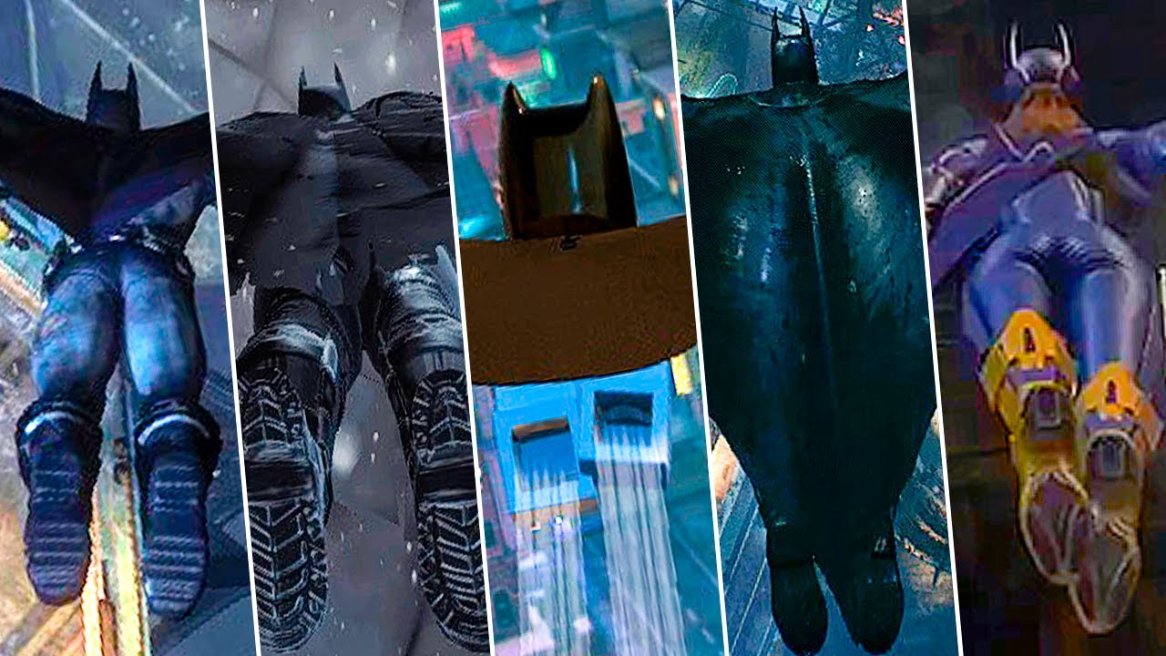 Batman Arkham Knight The Dark Knight Outfit And The Tumbler Batmobile Combat, Free Roam And Stealth