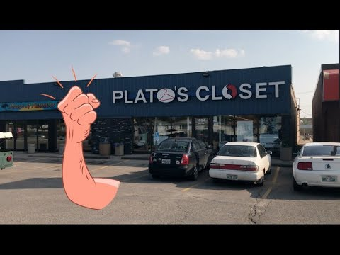 THRIFTING DRAMA WITH PLATO'S CLOSET! IT'S NOT RIGHT!