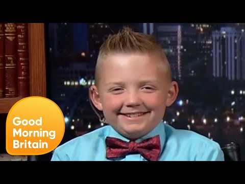 Nine-Year-Old Boy Overturns 100 Year Snowball Ban   Good Morning Britain