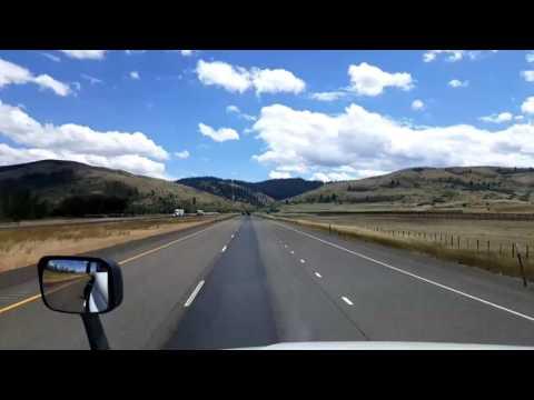 Bigrigtravels Live! La Grand, Oregon to Boise, Idaho Interstate 84 July 11, 2016