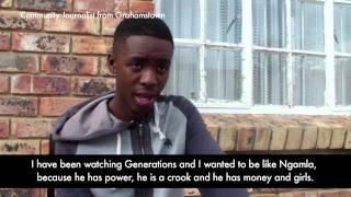 Violence in TV - Grahamstown Upstarts 2014