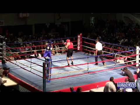 Steven Wright vs Diandre Burgess At Fight Night 15, Feb 2 2013